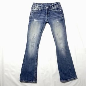 Miss Me Bootcut Jeans Distressed